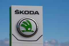 Skoda Brand Logo Stock Image
