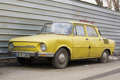 Skoda car Stock Photo