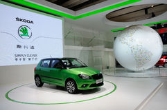 Skoda an CDMS 2012 Lizenzfreies Stockfoto