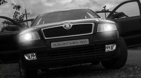 Skoda del lusso dell'automobile Immagine Stock Libera da Diritti