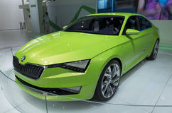 Skoda Dual-fuel Vision Coupe Royalty Free Stock Images