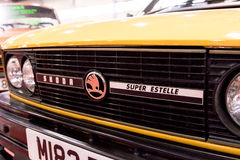 Skoda Estelle bil Fotografering för Bildbyråer