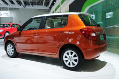 Skoda fabia Stock Photography