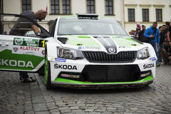 Skoda fabia R5 Stock Photos