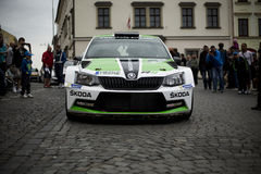Skoda fabia R5 Stock Photography