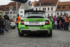 Skoda fabia R5 Royalty Free Stock Photography