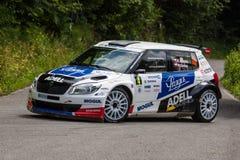 Skoda Fabia S2000 Stock Photo