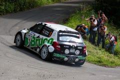 Skoda Fabia S2000 Stock Image