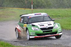 Skoda Fabia S2000 Stock Photography