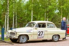 Skoda Felicia coupe sport-car, retro-club of Czech automaker Stock Photography