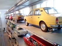 Skoda-Museum Mladà ¡ Boleslav Royalty-vrije Stock Fotografie