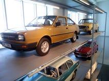 Skoda-Museum Mladà ¡ Boleslav Royalty-vrije Stock Foto's