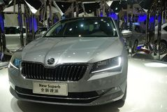 Skoda New Superb Stock Images