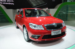 Skoda Octavia Royalty Free Stock Photo
