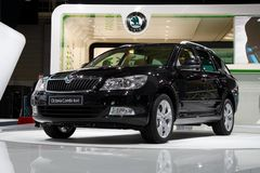Skoda Octavia Combi 4x4 Stock Photos