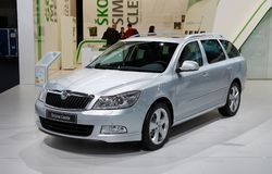 Skoda Octavia Combi Royalty Free Stock Photos