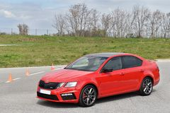 Skoda Octavia RS Stock Images
