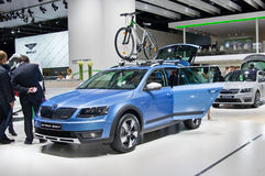 Skoda Octavia Scout Stock Images