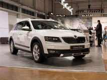 Skoda Octavia Scout Stock Photos