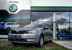 Skoda Rapid car Royalty Free Stock Photography