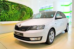 Skoda Rapid Royalty Free Stock Image