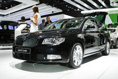 Skoda Superb Combi Stock Photo