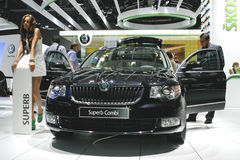 Skoda Superb Combi Royalty Free Stock Photos