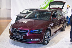 Skoda Superb Combi Stock Photography