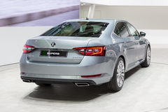 2015 Skoda Superb Stock Images