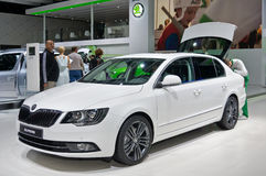 SKODA superbo Fotografia Stock