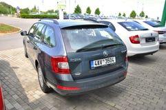 Skoda tout neuf Octavia Photos libres de droits