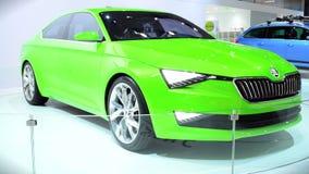 SKODA VisionC Concept Car stock footage