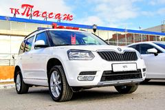 Skoda Yeti Royalty Free Stock Photos