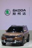 Skoda yeti SUV Stock Image