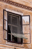 Skofja loka slovenia window shades Stock Photography