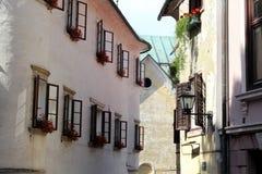 Skofja Loka, Slowenien lizenzfreies stockfoto