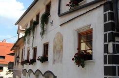 Skofja Loka, Slowenien stockbilder