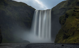 Skogafoss, Исландия Стоковое фото RF