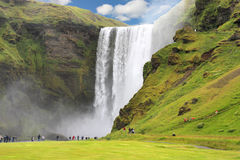 Skogafoss Royalty Free Stock Photo