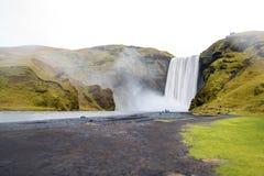 Skogafoss, belle cascade en Islande photos libres de droits