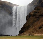 Skogafoss Iceland - Obrazy Royalty Free