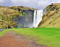 Skogafoss, Iceland Royalty Free Stock Photos