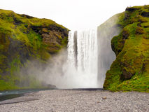 Skogafoss iceland waterfall Stock Photos