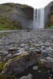 Skogafoss Iceland Stock Photo