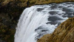 Skogafoss in IJsland 4K stock video