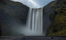 Skogafoss, Islanda Fotografia Stock Libera da Diritti