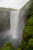 Skogafoss in Islanda Fotografia Stock