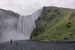 Skogafoss, Islande Photographie stock