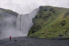 Skogafoss, Islandia Fotografía de archivo