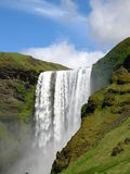 Skogafoss waterfall Royalty Free Stock Photos